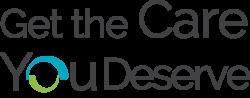 Get The Care You Deserve Logo